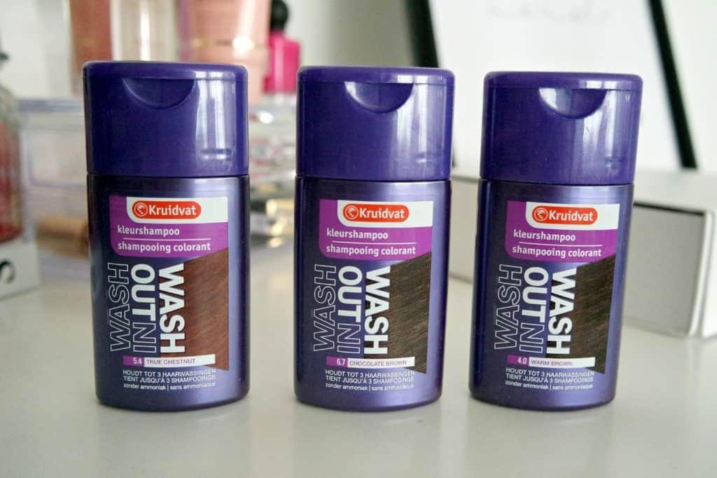 Kruidvat wash in, wash out kleurshampoo review -3