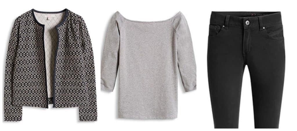 3 simpele outfits voor de lente - 4