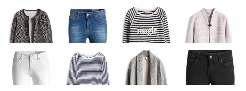 3 simpele outfits voor de lente