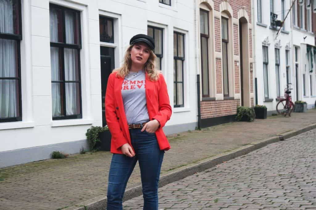 Outfit - Vandaag is rood