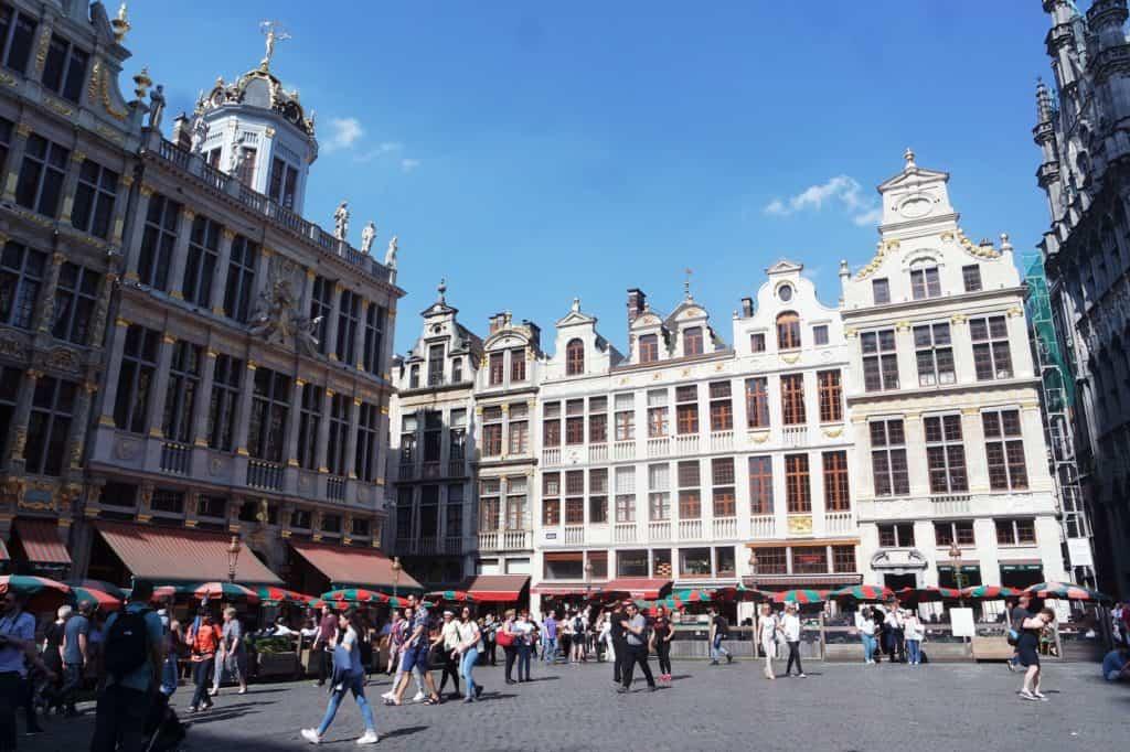 De hotspots van Brussel